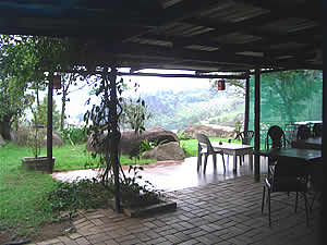 Braai area - Cathmar Cottages - Swaziland Accommodation - Self catering cottages Mbabane - Mbabane Accommodation