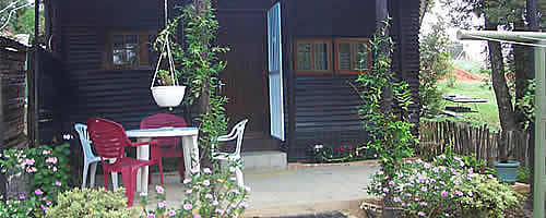 Wooden Chalet - Self Catering Mbabane - Cathmar Cottages - Swaziland Accommodation - Self catering cottages Mbabane - Mbabane Accommodation