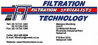 Filtration Technology in Nelspruit Mpumalanga leads the way in all your filtration requirements